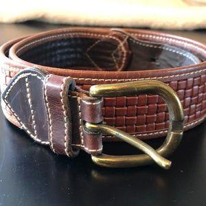 Accessories - Braided Leather Belt